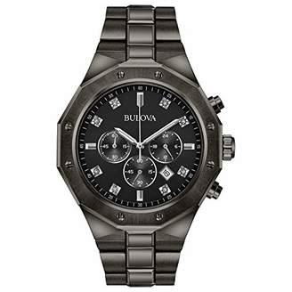 Bulova Men's Analog-Quartz Watch with Stainless-Steel Strap