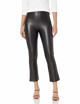 BB Dakota Women's On The Wide Side Faux Leather Pant