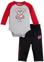 Under Armour Toddler Wisconsin Badgers Bodysuit & Pants Set