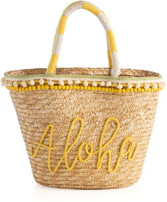 Shiraleah Aloha Woven Tote