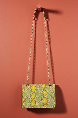 Naja Snake-Print Shoulder Bag