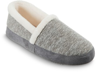 Isotoner Women's Heather Knit Slippers