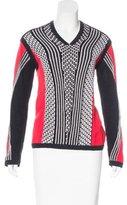Ohne Titel Patterned V-Neck Sweater