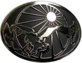 CTM® Men's Eagle and Sun Belt Buckle