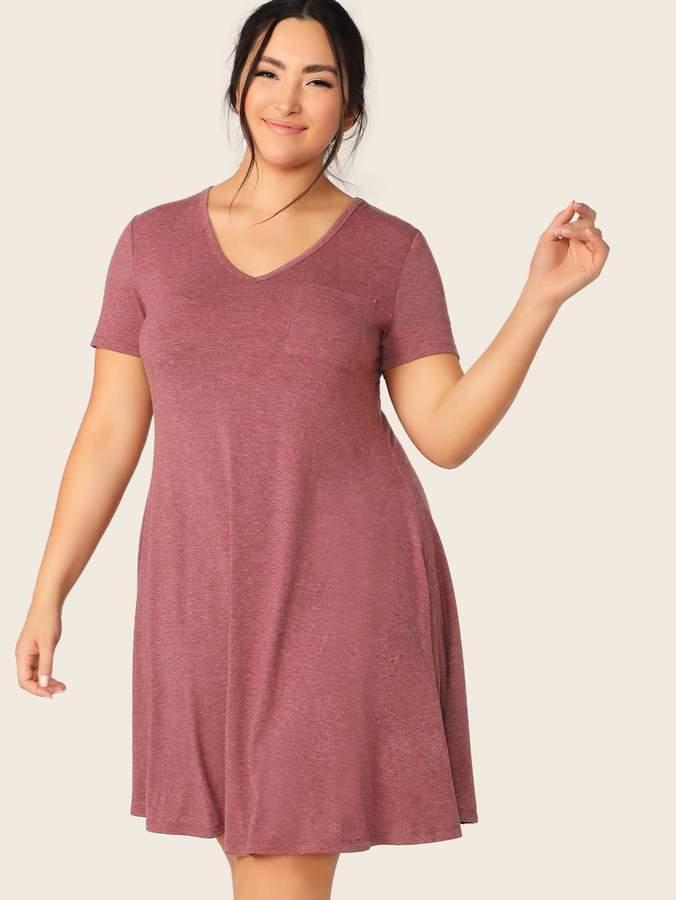 67cb38cbb067e Knitted Swing Dress - ShopStyle