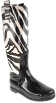 Chinese Laundry White & Black Rain Forest Knee-High Boot