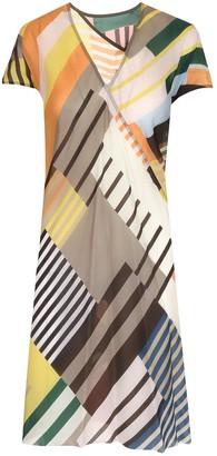 Rick Owens Colour-Block Mini Dress