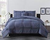 4 Piece Reese Denim Comforter Set King