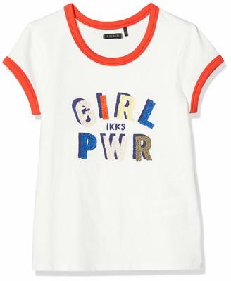 Ikks Junior Boy's Tee-Shirt Girl PWR T