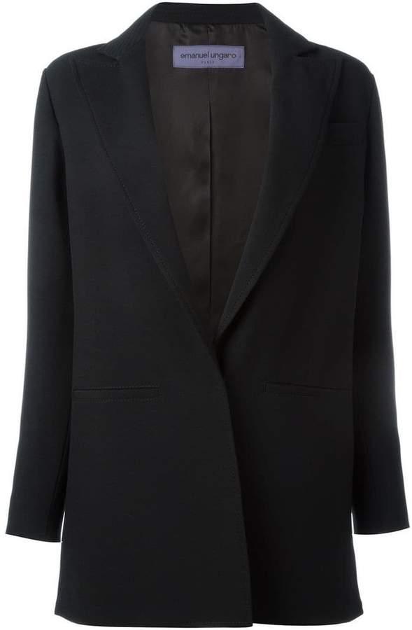 Ungaro front pocket blazer jacket