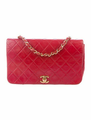 Chanel Vintage Small Flap Bag gold