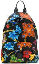 Chains Printed Backpack