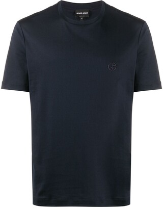 Giorgio Armani short-sleeved crew neck T-shirt