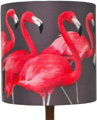 Flamingos Flock Of Lampshade Small