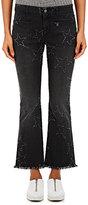 Stella McCartney Women's Frayed-Star Crop Flared Jeans