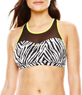 ZeroXposur Pop/Stalk Reversible Mesh Bra Swim Top