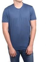 Ermenegildo Zegna Z Zegna By Men Double Collar T-shirt Blue.