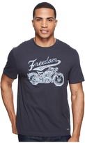 Life is Good Freedom Machine Crusher Tee Men's T Shirt