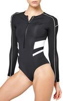 Ivy Park Biker Colorblock Bodysuit