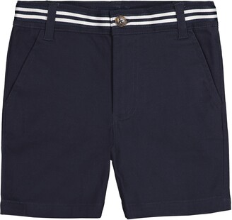 Andy & Evan Cotton Stretch Twill Shorts