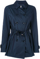 Herno belted water resistant trench - women - Cotton/Polyester/Acetate - 44