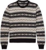 Alexander Mcqueen - Fair Isle Cashmere Sweater