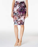 Thalia Sodi Printed Pencil Skirt, Only at Macy's