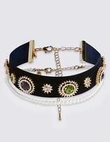 M&S Collection Glistening Choker Necklace