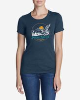 Eddie Bauer Women's Graphic T-Shirt - Mount Rainier