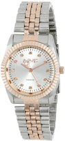 August Steiner Women's AS8046TT Diamond Stainless Steel Bracelet Watch