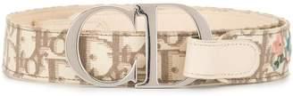 Christian Dior Pre-Owned Trotter print belt