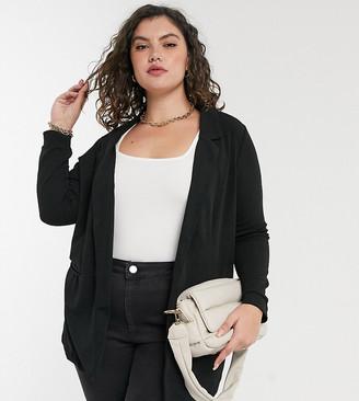 Junarose blazer in black