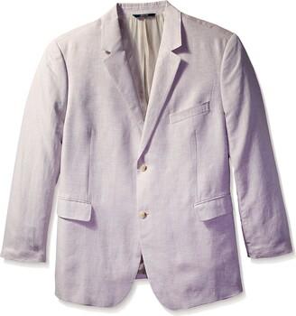 Perry Ellis Men's Big-Tall Linen Suit Jacket