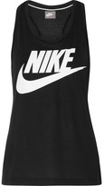 Nike Essential Stretch-jersey Tank - Black