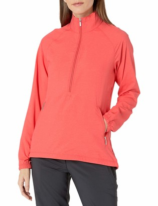 Cutter & Buck Women's CB Weathertec Long Sleeve Jackie 3/4 Zip