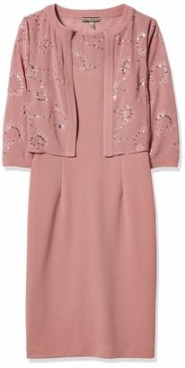 Maya Brooke Women's Chiffon Jacket Dress