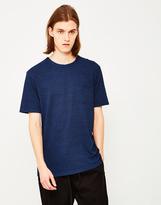YMC Wild Ones Towelling T-Shirt Blue