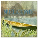 "Thirstystone Welcome To Our Lake House"" Individual Coaster"