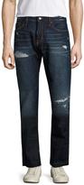 Jean Shop Men's Mick Distressed Slim Fit Jeans