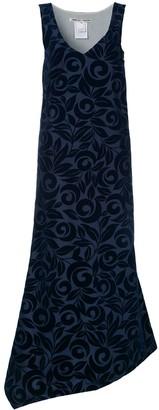 Comme Des Garçons Pre-Owned Flocked Dress