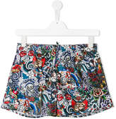 DSQUARED2 printed swim shorts