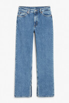 Thumbnail for your product : Monki Side slit jeans