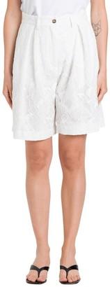 MSGM Lace Bermuda Shorts