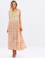 Free People Shine On Midi Dress