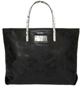 Urban Originals 'Sun Valley' Faux Leather Tote - Black