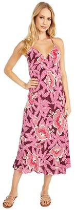 Equipment Allianna Dress (Red/Violet Multi) Women's Clothing
