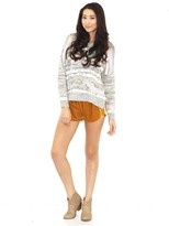 West Coast Wardrobe Royal Crush Shorts In Gold