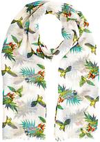 Oasis Palm Bird Penang Scarf, Multi