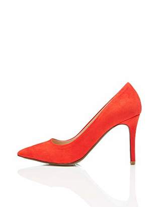 find. Point Heel Court Mary Jane, Red), 6 UK