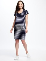 Old Navy Maternity Shirred Bodycon Dress
